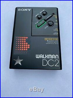 Rare Sony WM-DC2 serviced! Early model with pointed head