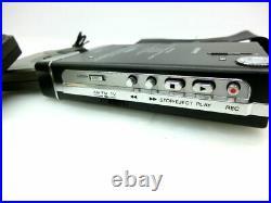 Rare! Vintage Restored SONY WALKMAN WM-F203 Cassette Tape player withTransmitter