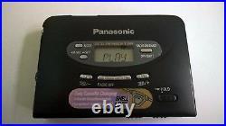 Refurbished Panasonic RQ-SX1V Walkman Cassette Player Digital AM-FM Tuner