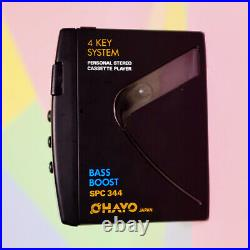 Retro 1990s Ohayo SPC 344 Personal Cassette Player refurbished working order