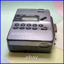 Retro 1990s Sony Walkman WM Fx43 Fm Radio Cassette Player Serviced, Working