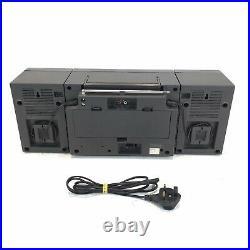 Retro Boombox Panasonic RX-C37L Portable Stereo Radio Cassette Player