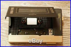 SONY Cassette Player Walkman WM-3 Headphone Seller refurbished Good Working