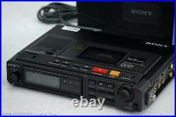 SONY TCD-D10 Professional Portable DAT Recorder Top-Zust + Zubehör! 1J. Garantie