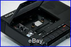 SONY TC-D5M Portable Profi Reporter Cassettedeck Top-Zust! Serviced+1J. Garantie