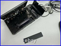 SONY WALKMAN WM-702 & Headphones MDR-EW33E Personal Cassette Player RESTORED