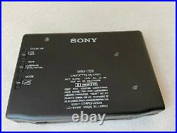SONY WALKMAN WM-702 Mega Bass Personal Cassette Player Dolby NEW BELT