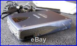 SONY WALKMAN WM-EX3 Personal Cassette Player remote control AA pack Full working