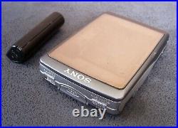 SONY WALKMAN WM-EX5 Personal Cassette Player AA pack Full working GRAY