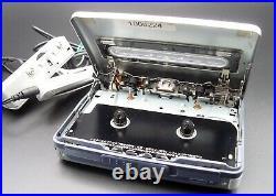 SONY WALKMAN WM-GX788 Radio Cassette Corder remote control AA pack Full working