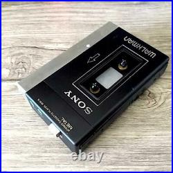 SONY WM-3 Walkman Deluxe Cassette Player Stereo Second Generation Maintained