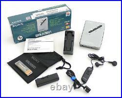 SONY WM-EX670 Portable Cassette Player/Walkman mit zubehör/OVP&1J. Garantie