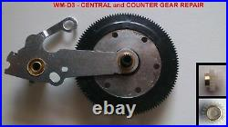 SONY Walkman D3 CENTRAL and COUNTER GEAR REPAIR