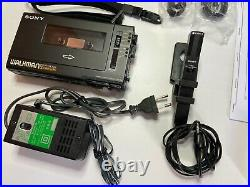 SONY Walkman Professional WM-D6C RESTORED Stereo Cassette Corder #WalkmanDeluxe