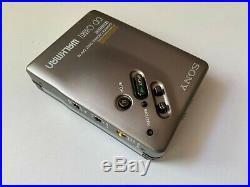 SONY Walkman WM-DD33 SILVER Mega Bass Dolby nr Personal Cassette Player RESTORED
