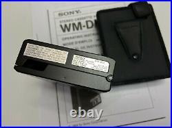 SONY Walkman WM-DDII WM-DD2 Personal Cassette Player Top Condition