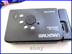 SONY Walkman WM EX-66 withRemote controller Perfect working Very good condition