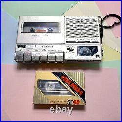 Sanyo M6600f Metal Body Rare Cassette Radio Player Fully Refurbished Serviced