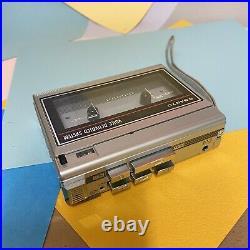 Sanyo TRC 1130 Cassette Tape Player Recorder walkman, Serviced! VGC