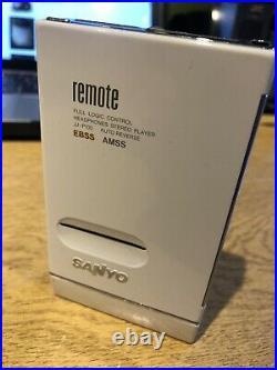 Sanyo walkman cassette player JJ-p100