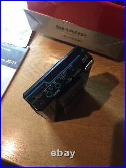 Sharp walkman cassette player Jc-77