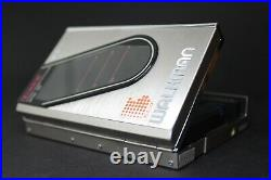 Silver Sony Walkman WM-30 Refurbished with new belt and Working Perfectly