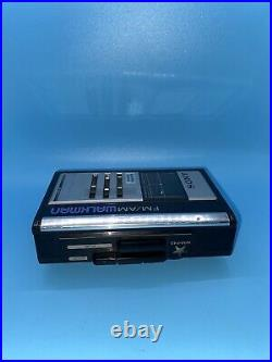 Sony FM/AM Walkman WM-F43 Stereo Cassette Player Vintage TESTED WORKING