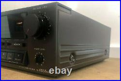 Sony TC-K555ES Stereo Cassette Deck Player Excellent Condition