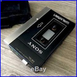 Sony WM-3 Walkman Deluxe Kassettenspieler Stereo Sekunde Generation Gepflegt