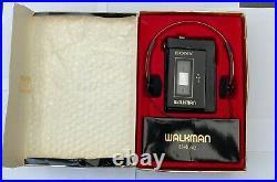 Sony WM-3 in original box, SERVICED! MDR-4L1
