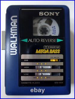 Sony WM-B39 Walkman, Riemen neu, komplett überholt, mit Mega Bass und Dolby