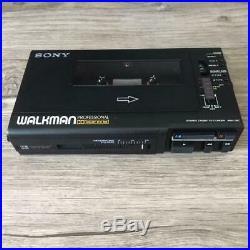 Sony WM-D6C Walkman Professionell Kassettenspieler Stereo Gepflegt Schwarz