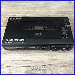 Sony WM-D6 Walkman Professional Kassettenspieler Stereo Gepflegt Schwarz