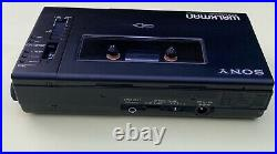 Sony WM-D6 Walkman serviced! With ECM-909A microphone and leather case