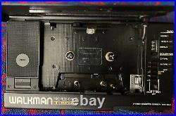 Sony WM-D6c Professional Vintage Cassette/ Recorder (New Belts) Original 1988