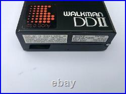 Sony WM-DD2, in original box! Completely restored, with headphone and manual