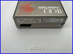Sony WM-DD2, restored! With original soft case, sounds beautiful