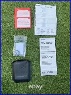 Sony WM-DD33, in original box! Serviced