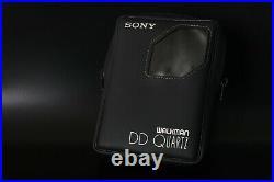 Sony WM-DDIII Quartz Red Walkman REPAIRED near MINT