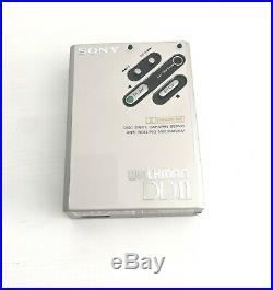 Sony WM DD 2 WM DD II with Original Soft Case, Very Beatiful