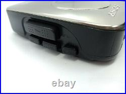 Sony WM-EX116 Walkman Personal Cassette Tape Player Stereo Portable Music SILVER