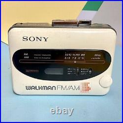 Sony WM-F38/F68 Retro Tech Walkman Cassette Tape Player Refurbished NEW BELT