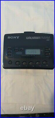 Sony WM-FX28 Walkman Cassette Tape Player AM/FM Radio Refurbished NEW BELT