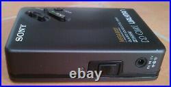 Sony Walkman DD 33, MINT CONDITION, RESTORED, + MDR102 HEADPHONES + CASE + MANUAL