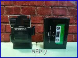 Sony Walkman II Wm 2 Black Serviced Item Rare Collectible F/s From Japan