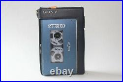 Sony Walkman TPS-L2 & Headphones Serviced with New Belts and Working Perfectly