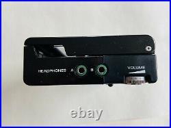 Sony Walkman WM-2 Black Refurbished with Original MDR-4L1 Headphones
