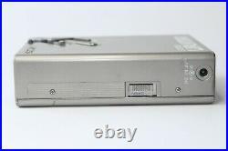 Sony Walkman WM-2, MDR4 Headphones & Belt Clip Refurbished & Working Perfectly