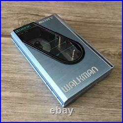 Sony Walkman WM-30 Kassettenspieler Stereo Blau Gepflegt 1984 Vintage
