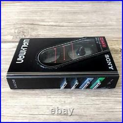 Sony Walkman WM-30 Kassettenspieler Stereo Schwarz Gepflegt 1984 Vintage